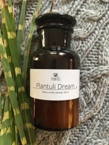 Świeca sojowa Plantuli Dream - Plantuli 180 ml